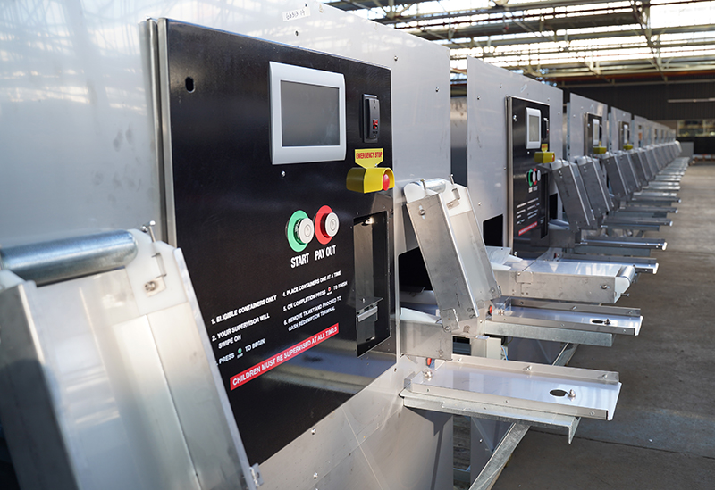 Semi-automated-recycling-machines