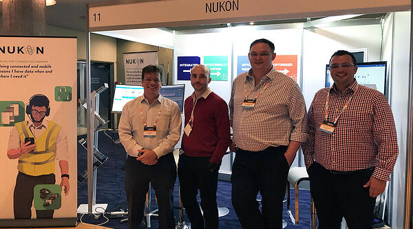 A few of the Nukon Team at the 2018 IoT Summit, Sydney