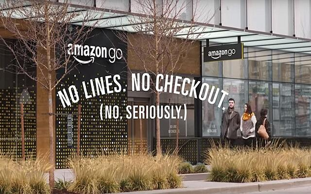 Amazon Go: taking technology to new frontiers