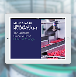 How to manage your manufacting BI projects