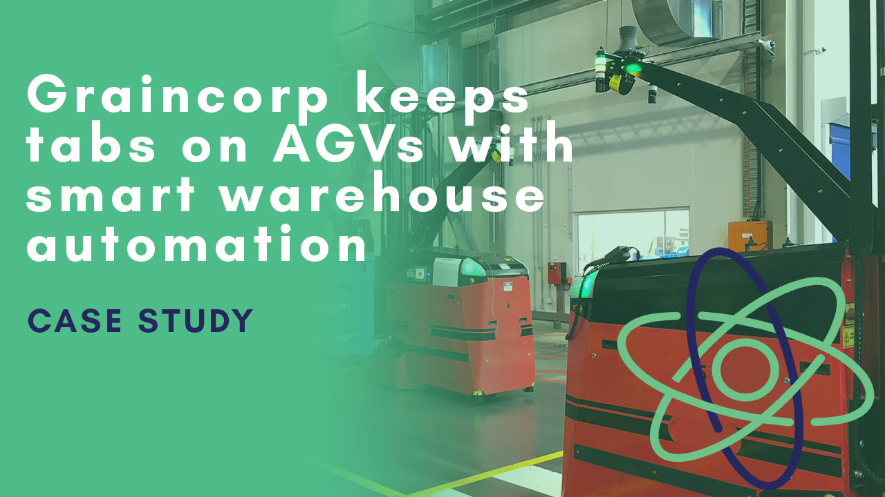Graincorp keeps tabs on AGVs with smart warehouse automation and visibility