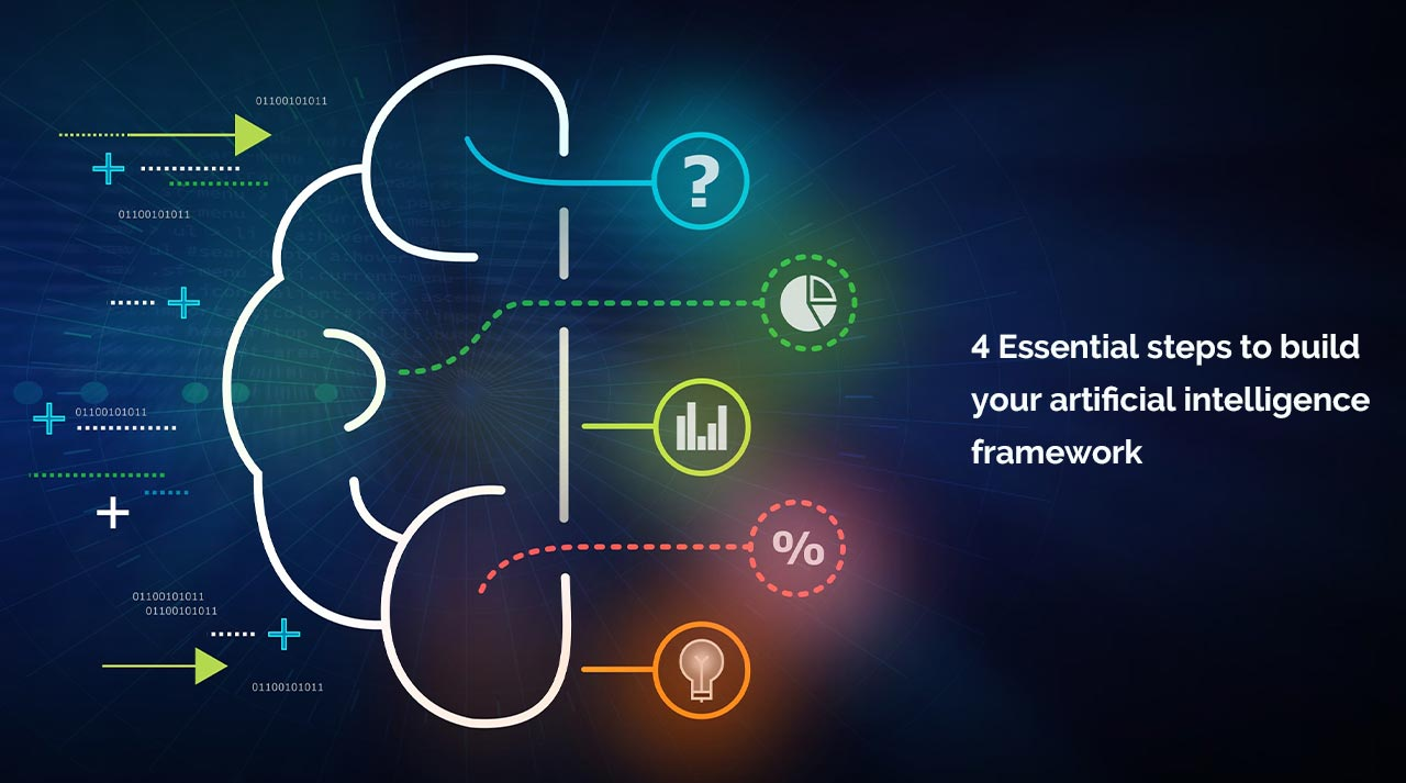4 Essential steps to build your artificial intelligence framework